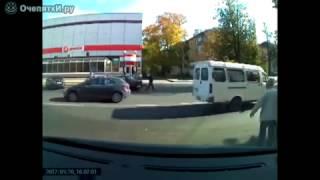 Новая нарезка приколов пешеходы!!!!