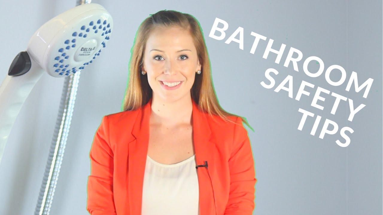 Bathroom safety tips for seniors youtube for Bathroom safety for seniors