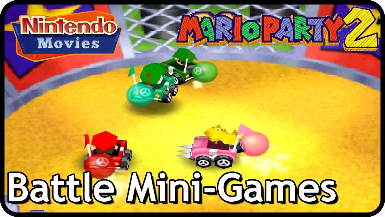 Mario Party 2 - All Battle Mini-Games