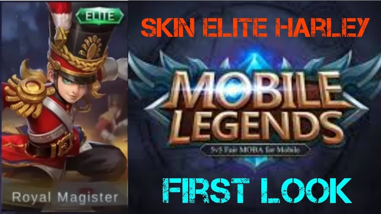 New Starlight Skin April  Harley Royal Magister Mobile Legend Indonesia