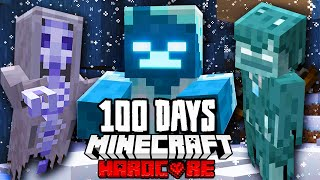 I Survived 100 Days in an APOCALYPTIC BLIZZARD in Minecraft...