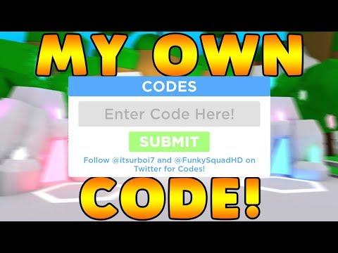 MY OWN CODE!   Building Simulator ROBLOX