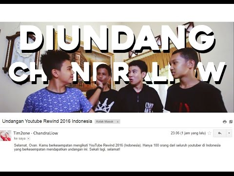 DIUNDANG CHANDRA LIOW KE YOUTUBE REWIND 2016! (Clickbait) | Bengkulu Q&A