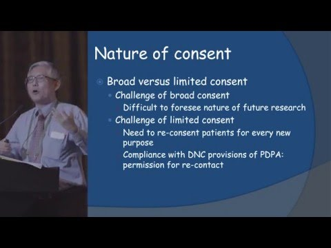 Tan Soo Yong - Ethical and Legal Implications in Biobanking and Translational Research