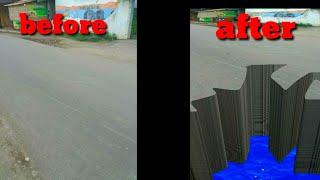 Cara Bikin Lubang 3D | tutorial pixellap