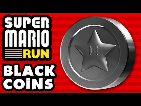 Super Mario Run - ALL BLACK COINS! 100% of the Black Coins!