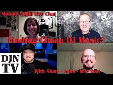 Finding DJ Music? Cheap? | Monday Night Live DJ News Chat | #DJNTV