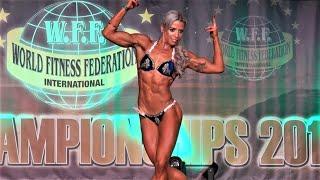 Jenni Murphy - Competitor No 57 – Women  Athletic - WFF World Championship 2016