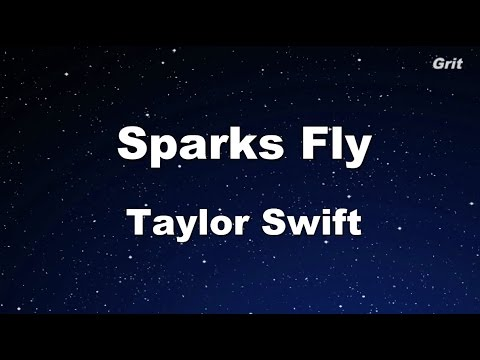 Sparks Fly - Taylor Swift Karaoke【No Guide Melody】