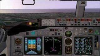 FS2004 Landing LEAL Spain