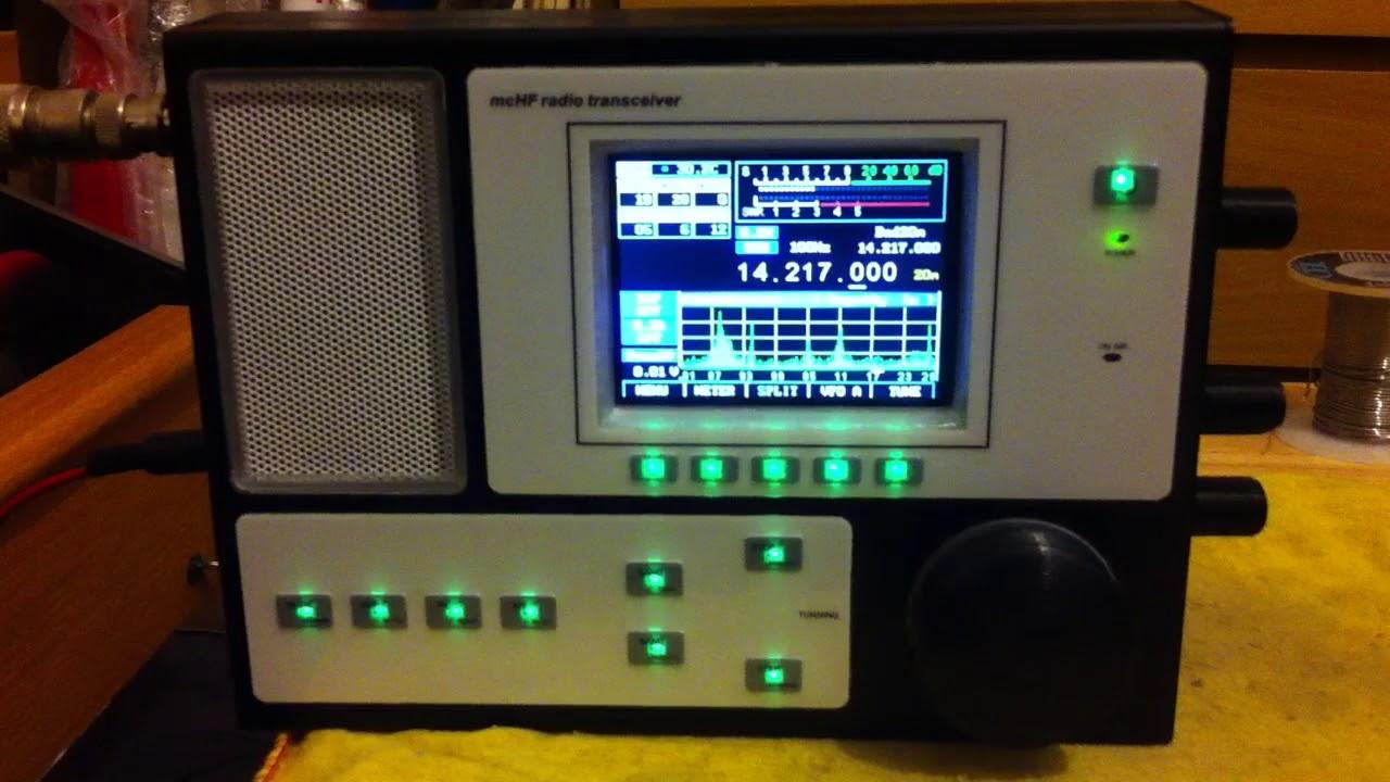 MCHF SDR Transceiver V0 7 new version M0NKA