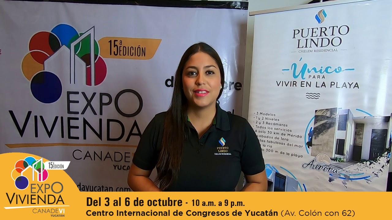 Puerto Lindo presente en Expovivienda Yucatán 2019