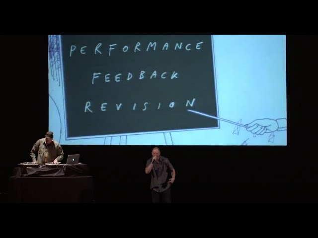 Performance, Feedback, Revision – Baba Brinkman Live at the Seattle Science Festival