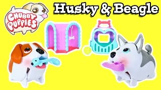 Chubby Puppies Husky & Beagle Tunnel Playset