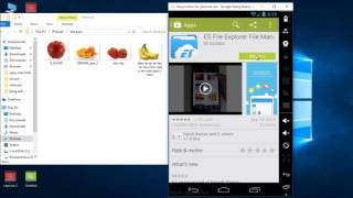 share folder from window to genimotion 2015 android programming virtual box