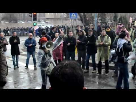 Kesk, Eğitim-Sen Ankara 28-29 Mart Eylemi - Mitralyöz