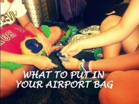 What To Put In Your Airport Bag
