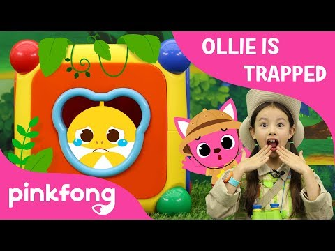 Ollie is Trapped!   Save Baby Shark Ollie   Pinkfong Escape Room   Pinkfong Playfong for Children