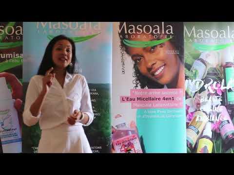 Stéphanie RAKOTOMALALA, CEO de Masoala Laboratoire