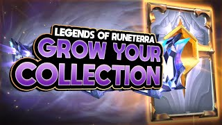 How to GROW YOUR COLLECTION In Legends of Runeterra - Economy Guide