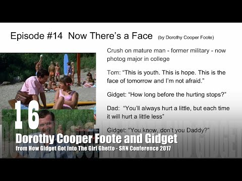 19 Dorothy Cooper Foote and Gidget from How Gidget  Got Into the Girl Ghetto with Dr. Rosanne Welch
