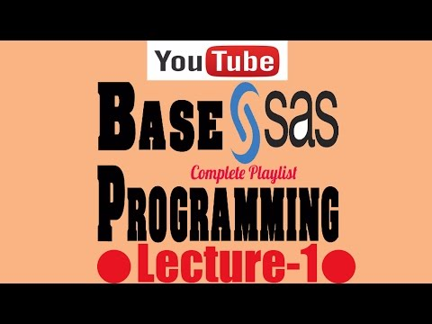 FREE Complete Indepth Base SAS Programming with Real life Example-Lecture 1   Free Udemy Tutorials