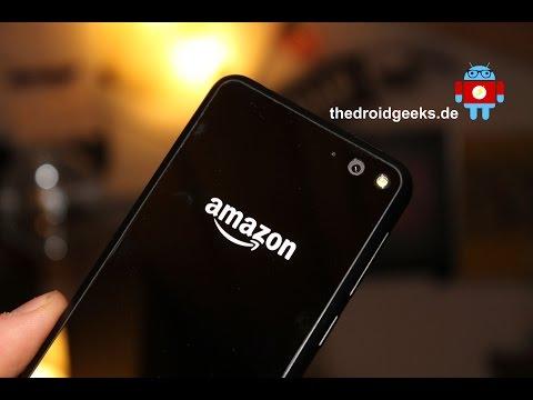 Amazon FirePhone - Dynamic Perspective und Firefly gezeigt