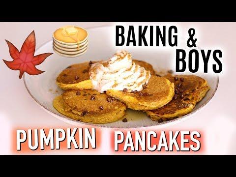 Baking & Boys: Pumpkin Pancakes