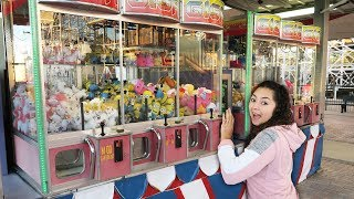 The Claw Machines are too tall to play!