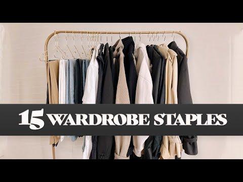 15 CLOTHING STAPLES FOR EVERY CLOSET