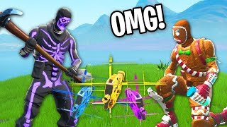 I swapped WEAPONS with EVERY PERSON I KILL in Fortnite... (Copycat Challenge)