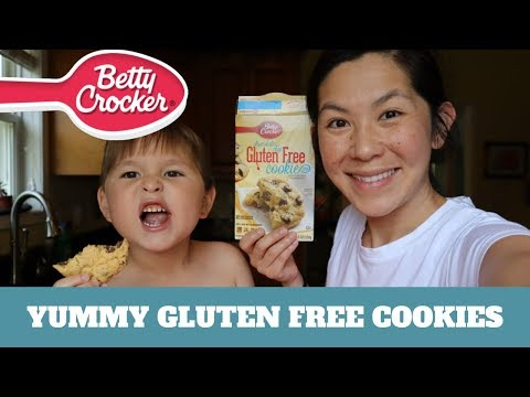 BEST GLUTEN FREE COOKIES | Betty Crocker Recipe | Gluten Free Chocolate Chip Cookies