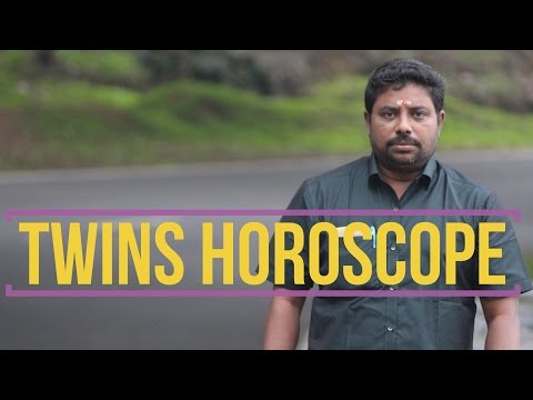 Twins Horoscope #4 by DINDIGUL P CHINNARAJ ASTROLOGER INDIA