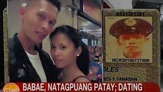 Ub: Babae, Pinatay Ng Kanyang Dating Live-in Partner Sa Qc; Suspek, Pinaghahanap