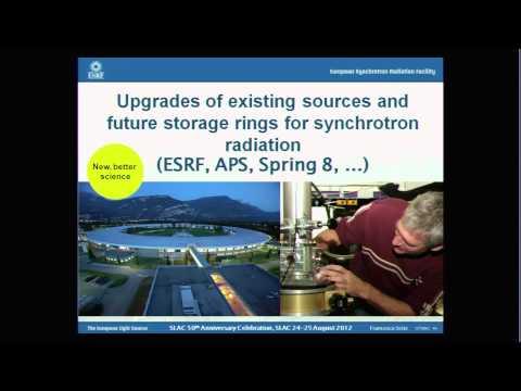"""Next-Generation X-Ray Analyses"" by Francesco Sette (European Synchrotron Radiation Facility)"
