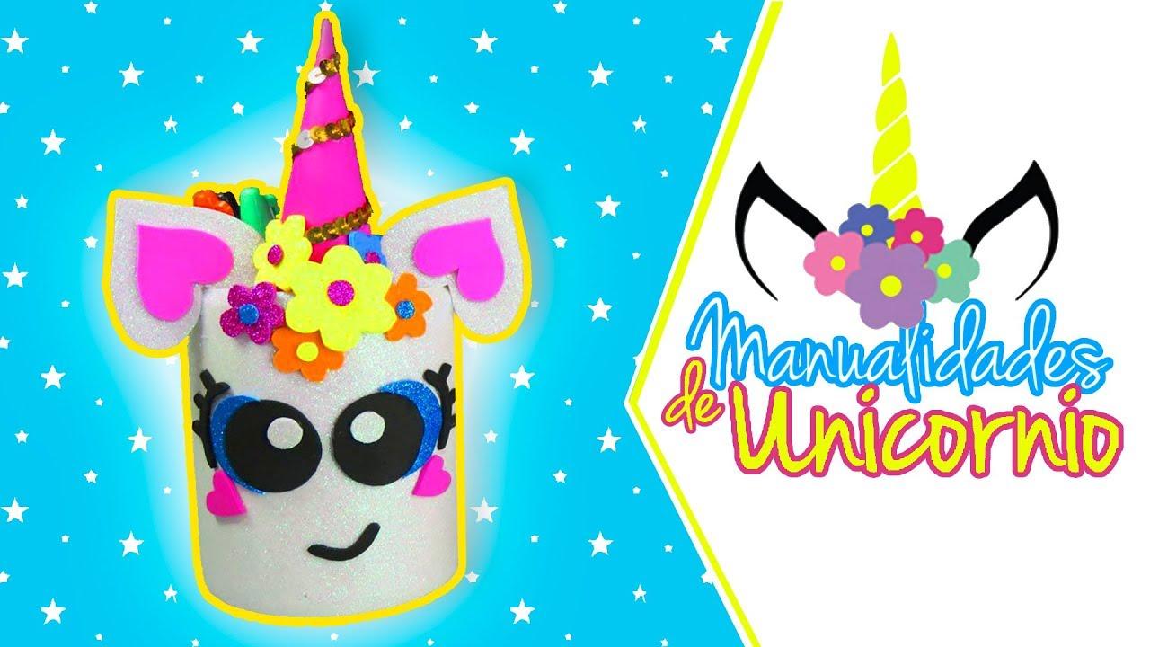 Manualidades De Unicornios Parte 1 Ariela Youtube