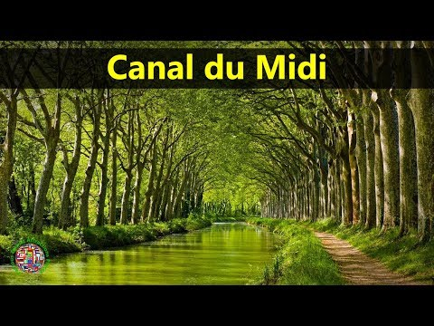 Best Tourist Attractions Places To Travel In France | Canal du Midi Destination Spot