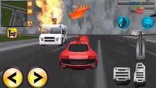 bomberos para niños en español, juego de carros, camiones bombero | GamePlay 3D 2018