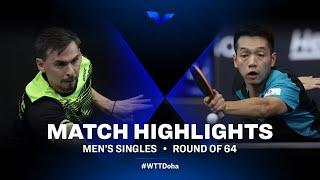 Skachkov Kirill vs HO Kwan Kit | WTT Star Contender Doha 2021 | MS | R64