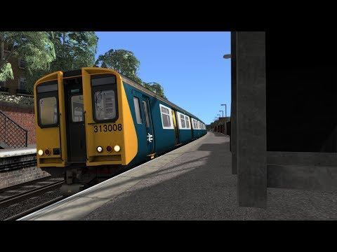 Train Simulator 2018: Class 313 NLS06. Give My Regards To Broad Street