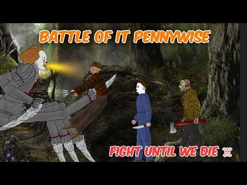 🔥 Jason Voorhees Vs IT Pennywise Vs Freddy Krueger Vs Michael Myers   ZV Animations