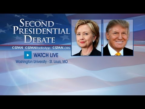 Second Presidential Debate (C-SPAN)