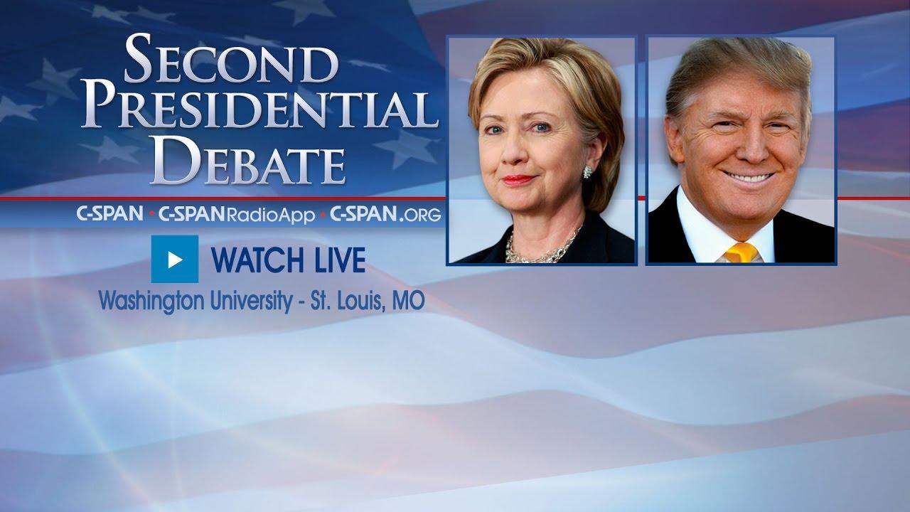 Download Second Presidential Debate (C-SPAN)