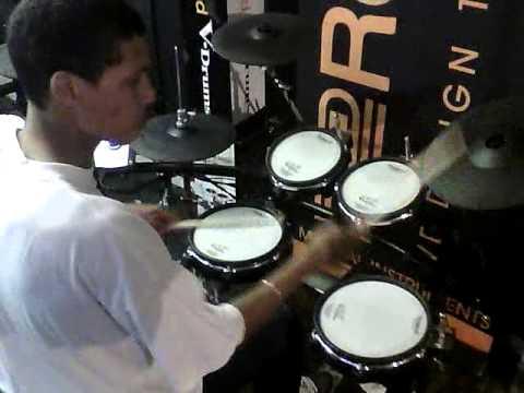 Kurt Bower Roland V-Drums Cape Town Championship Audition