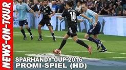 Sparhandy Cup 2016 (HD) Promi Spiel: Team Lukas Podolski vs. Team Elton (Mickie Krause) Gummersbach