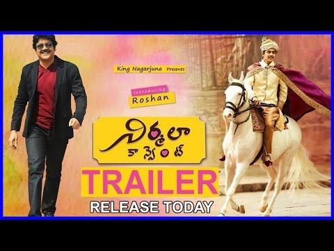 Nirmala Convent Movie Trailer    Roshan   Kailash Kher II Nagarjuna