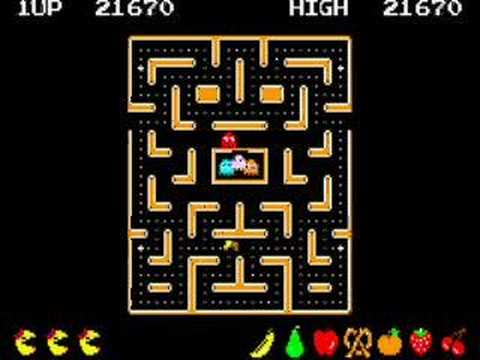 Ms Pacman levels 6-9 - YouTube
