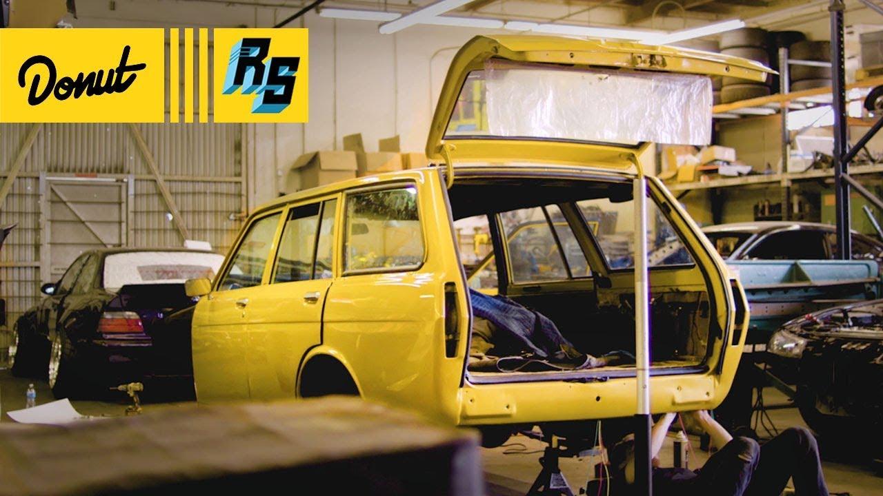#Wagonfors Pt.2 - Wiring, kes, & Suspension | Datsun 510 Wagon Build on