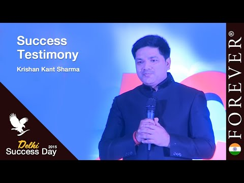 Business Testimony by Krishan Kant Sharma at Delhi Success Day