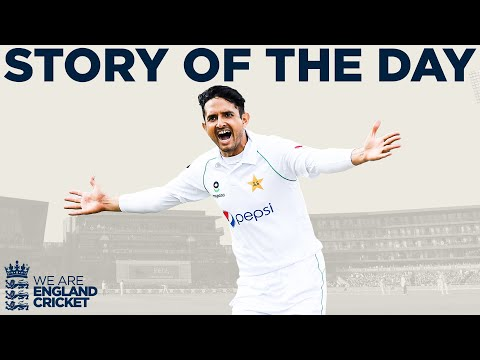 Shan Masood Hits Ton Before Pakistan Bowlers Dominate | Engl